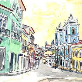 San Salvador de Bahia - Brazil Colonial Old Town