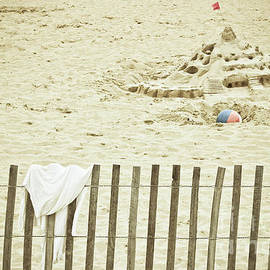Sandcastle on the Beach by Colleen Kammerer