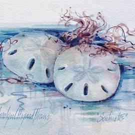 Sand Dollar Soulmates by Carolyn Utigard Thomas