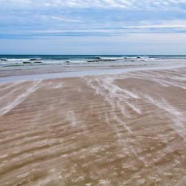 John M Bailey - Sand Swirls on the Beach