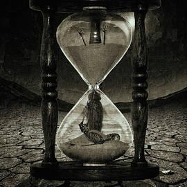 Sands of Time ... Memento Mori - Monochrome by Marian Voicu