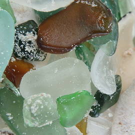 Sandy Beach Glass 2 by Kimberly Perry