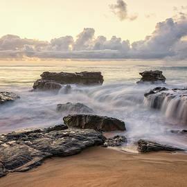 Sandy Beach Sunrise 3 - Oahu Hawaii by Brian Harig