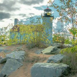 Trey Foerster - Sandy Point Lighthouse Escanaba 1