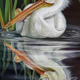 Sandy's Pelican by Phyllis Beiser