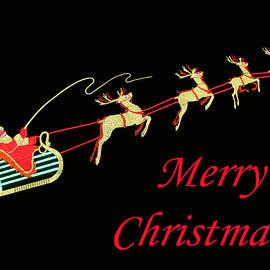 Judy Whitton - Santa Claus and Reindeer