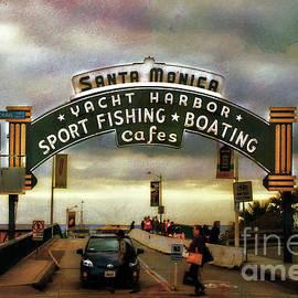 Jerry Cowart - Santa Monica Beach Pier