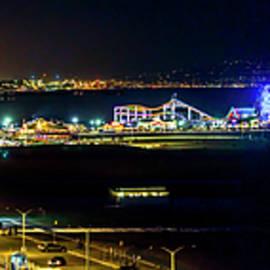 Gene Parks - Santa Monica Pier Sparkle - Panorama