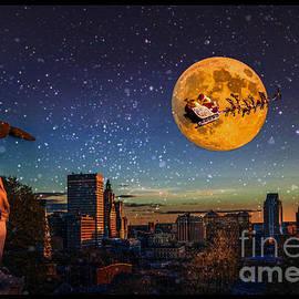 Jerri Moon Cantone - Santa Over Providence