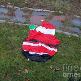 Santa Slipped by Rick Maxwell