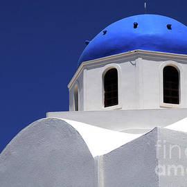 Bob Christopher - Santorini Greece Architectual Line 2