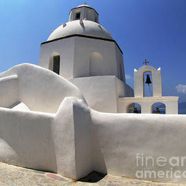 Bob Christopher - Santorini Greece Architectual Line 4