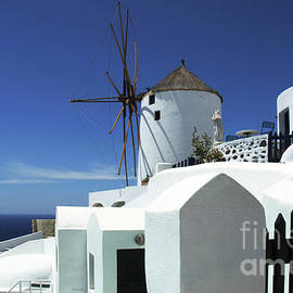 Bob Christopher - Santorini Greece Architectual Line 5