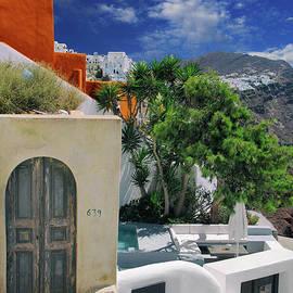 Kasia Bitner - Santorini Heaven