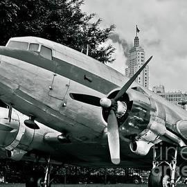 Classic Aircraft Douglas Dc-3 by Carlos Alkmin