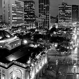 Sao Paulo Downtown - Viaduto do Cha and around by Carlos Alkmin
