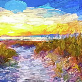 Sauble Beach - Dune Path - Paint by Steve Harrington