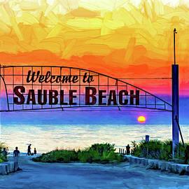 Steve Harrington - Sauble Beach Sunset 3 - Paint