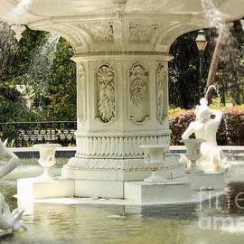 Savannah Forsyth Park fountain by Charlene Cox
