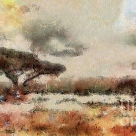 Savannah Landscape by Sarah Kirk - Sarah Kirk