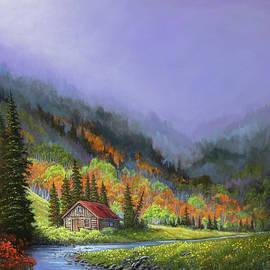 Sawtooth Autumn by Chris Steele