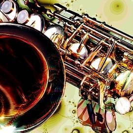 Saxophone Bell - Fantasy - Musical Instruments by Anastasiya Malakhova