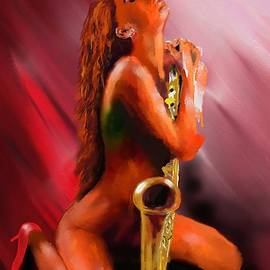 SaxyLady by S Robinson