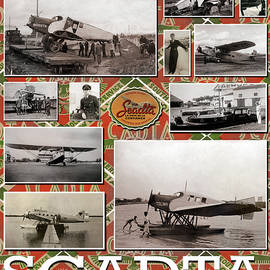 Scadta Airline Poster by Jeff Phillippi