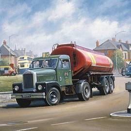 Scammell tanker. - Mike Jeffries
