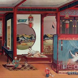 Chinese School - Scene of an interior