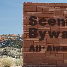 Steve Gadomski - Scenic Byway 12 Sign Utah