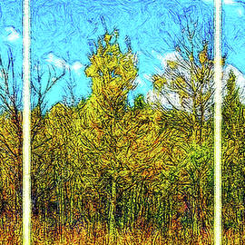 Joel Bruce Wallach - Scent Of Aspen And Pine - Triptych