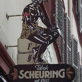 Teresa Mucha - Scheuring Tabak Sign Heidelberg