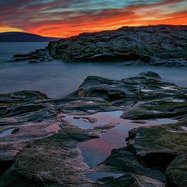 Schoodic Afterglow by Rick Berk