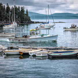 George Moore - Schoodic Harbor Fisherman