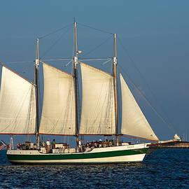 Sally Weigand - Schooner by Fort Sumter