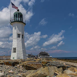 Scituate Lighthouse Panorama by Brian MacLean