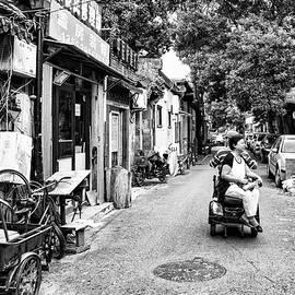Karen Regan - Scootering Through Old Town
