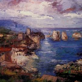 R W Goetting - Scopello in Sicily IV
