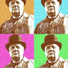 Scrabble Winston Churchill x 4
