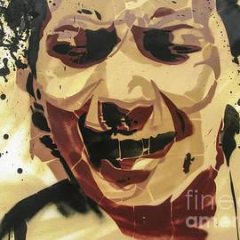 Scream Graffiti by Daliana Pacuraru