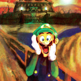 Scream Luigi by Ivan Florentino Ramirez