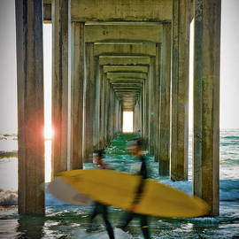 Ken Johnson - Scripps Pier Surfers