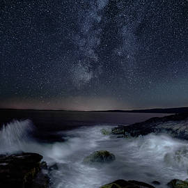 Marty Saccone - Sea and Starscape at Schoodic Point