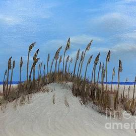 Bev Conover - Sea Oats on Sand Dunes