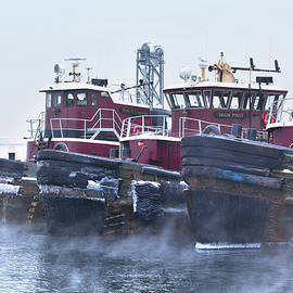 Eric Gendron - Sea Smoke in Portsmouth Harbor