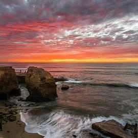 Scott Cunningham - Sea Stack Sunset