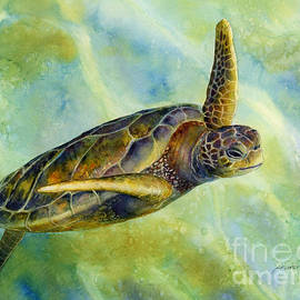 Sea Turtle 2 by Hailey E Herrera