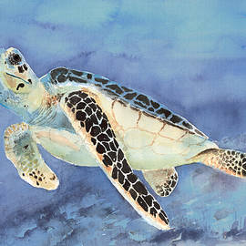 Sea Turtle by Arline Wagner