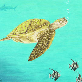 Stephanie Yates - Sea turtle